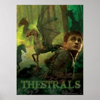 Harry Potter Thestrals Affiche