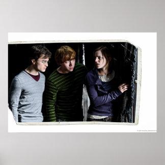 Harry, Ron, et Hermione 4 Affiches