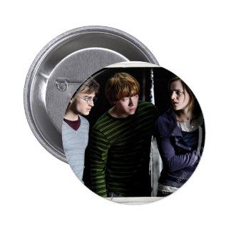 Harry, Ron, et Hermione 4 Badges