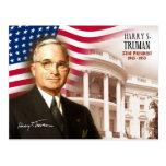 Harry S. Truman - trente-troisième président des É Cartes Postales
