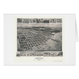 Harve de Grace, carte panoramique de DM - 1907