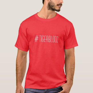 Hashtag d'éclat de Charlie de T-shirt de