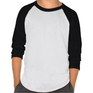 Hashtag rad badine la chemise de douille du raglan t-shirts