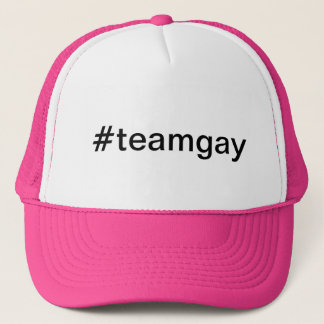 hashtag #teamgay casquette