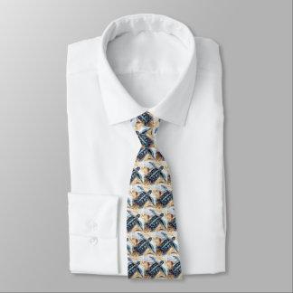 Hatchling de Honu (tortue de mer verte) Cravates