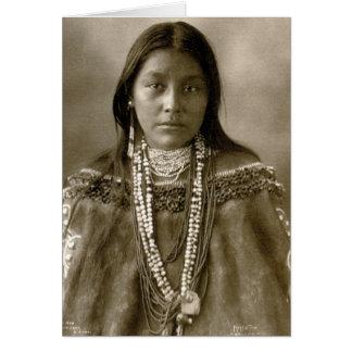 Hattie Tom, Chiricahua Apache Cartes