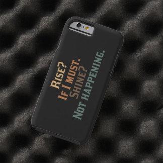 Hausse et éclat drôles ? coque iPhone 6 tough