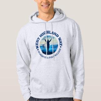 Hausse (manière des montagnes occidentale) veste à capuche