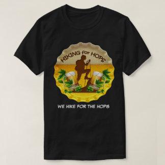Hausse pour des houblon logo foncé de capsule de t-shirt