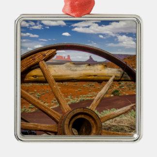 Haut étroit de roues, Arizona Ornement Carré Argenté