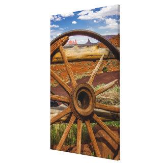 Haut étroit de roues, Arizona Toile