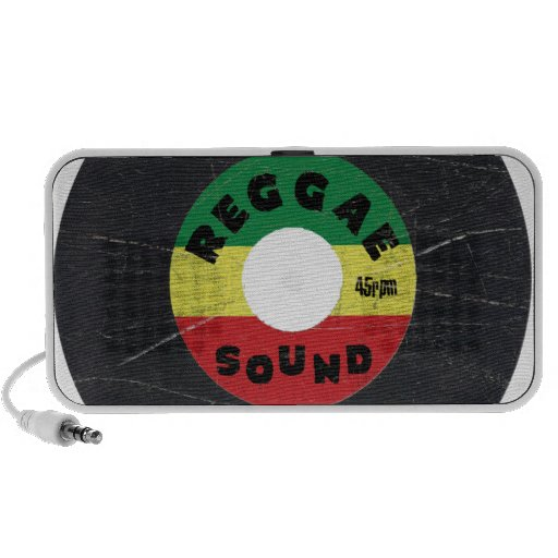 Haut-parleur 45rpm sain de reggae