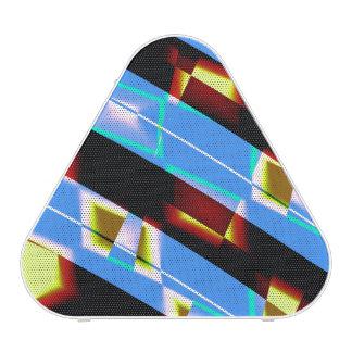 Haut-parleur abstrait moderne coloré