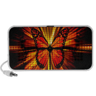 Haut-parleur de papillon