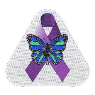 Haut-parleur de papillon de fibromyalgie haut-parleur bluetooth