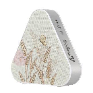 Haut-parleur de Pieladium de papillon et d'herbe Haut-parleur Bluetooth