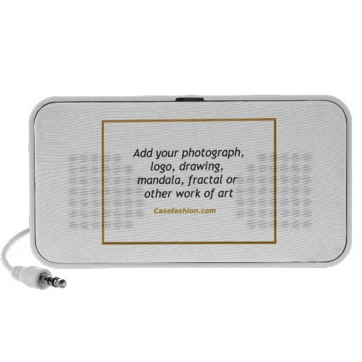 Haut-parleur MP3 portatif de griffonnage avec votr
