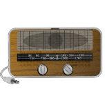 Haut-parleur par radio vintage de griffonnage