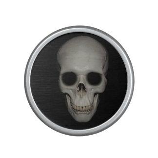 Haut-parleur squelettique de Bumpster de crâne