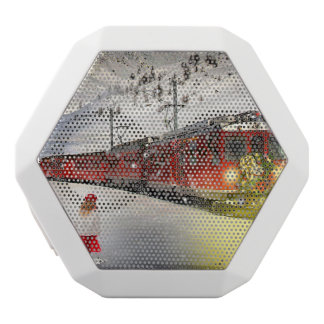 Haut-parleurs Blancs Sans-fils Express de Pôle Nord - train de Noël - train de