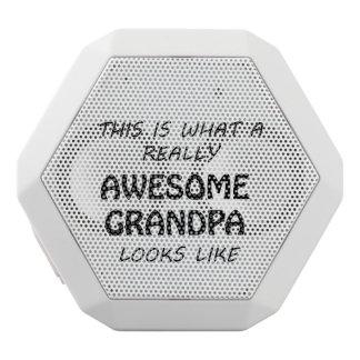 Haut-parleurs Blancs Sans-fils Grand-papa impressionnant