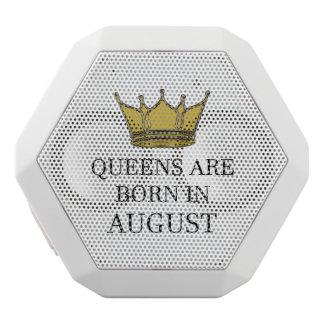 Haut-parleurs Blancs Sans-fils La Reine sont née en août