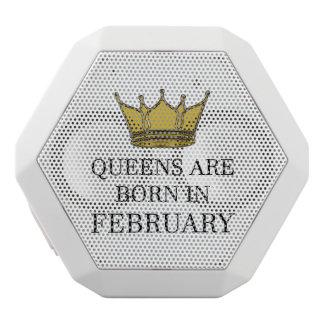 Haut-parleurs Blancs Sans-fils La Reine sont née en février