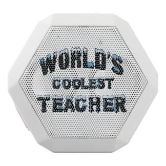Haut-parleurs Blancs Sans-fils Le professeur le plus frais du monde