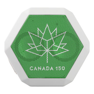 Haut-parleurs Blancs Sans-fils Logo du Canada 150