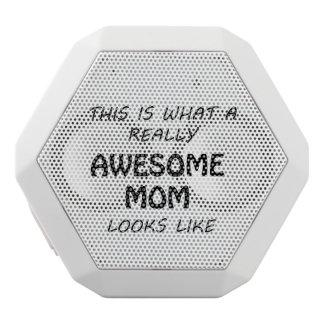 Haut-parleurs Blancs Sans-fils Maman impressionnante