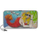 Haut-parleurs d'art d'imaginaire de sirène de homa