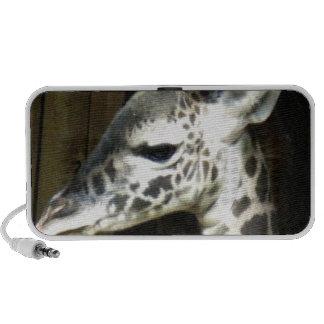 Haut-parleurs de girafe de bébé