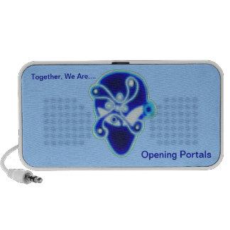 Haut-parleurs de portails d'ouverture