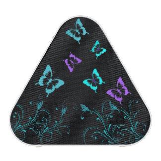 Haut-parleurs mignons de triangle de papillon haut-parleur bluetooth