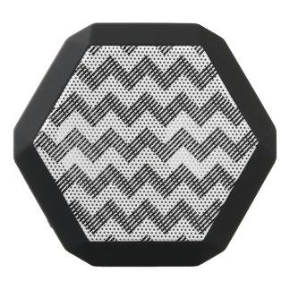 Haut-parleurs Noirs Sans-fils Motif de zigzag géométrique 2