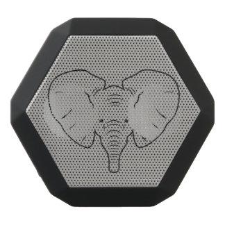 Haut-parleurs Noirs Sans-fils Silhouette de visage d'éléphant