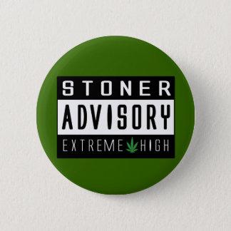 Haute extrême d'avertissement badges