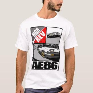 Haute pièce en t de Rev AE86 T-shirt