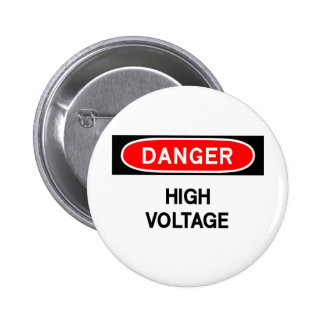 haute tension badge