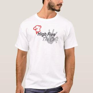 Hauts cinq le T-shirt de chef