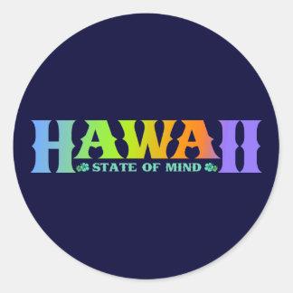 Hawaï Adhésif Rond