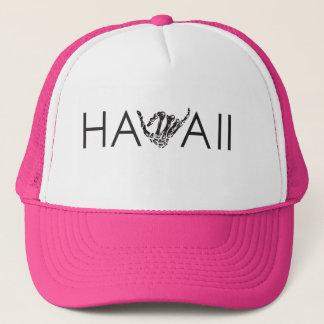 Hawaï casquette rose et blanc de Shaka