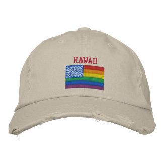 Hawaï célèbre la casquette de baseball d'égalité