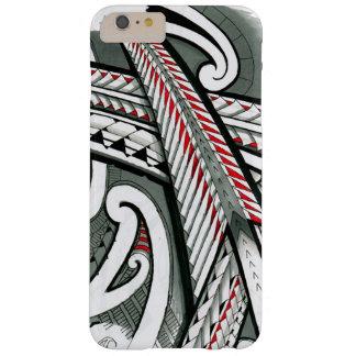 hawai gris rouge d'île de conception de tatouage coque iPhone 6 plus barely there