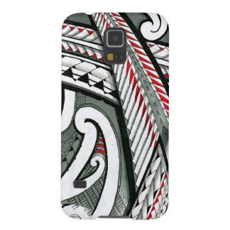 hawai gris rouge d'île de conception de tatouage coques galaxy s5