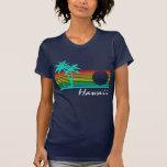 Hawaï vintage - conception affligée t-shirts
