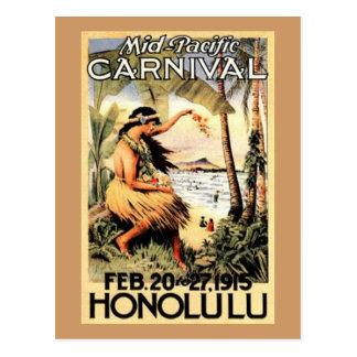 Hawaï vintage, Etats-Unis - Cartes Postales