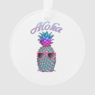 Hawaïen coloré d'ananas Aloha