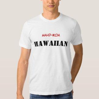 Hawaïen de Hahd-Koa T-shirts