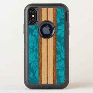 Hawaïen en bois de planche de surf de Faux de